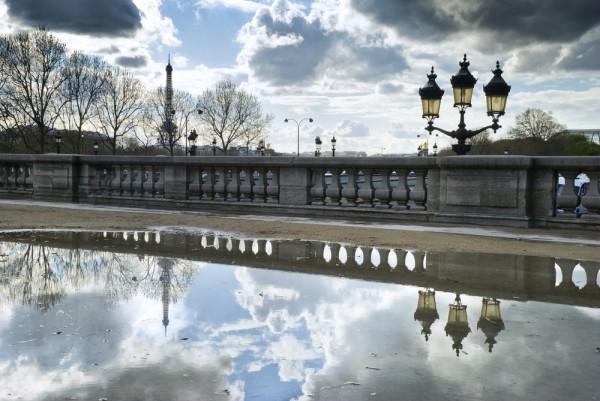 reflectie-regen