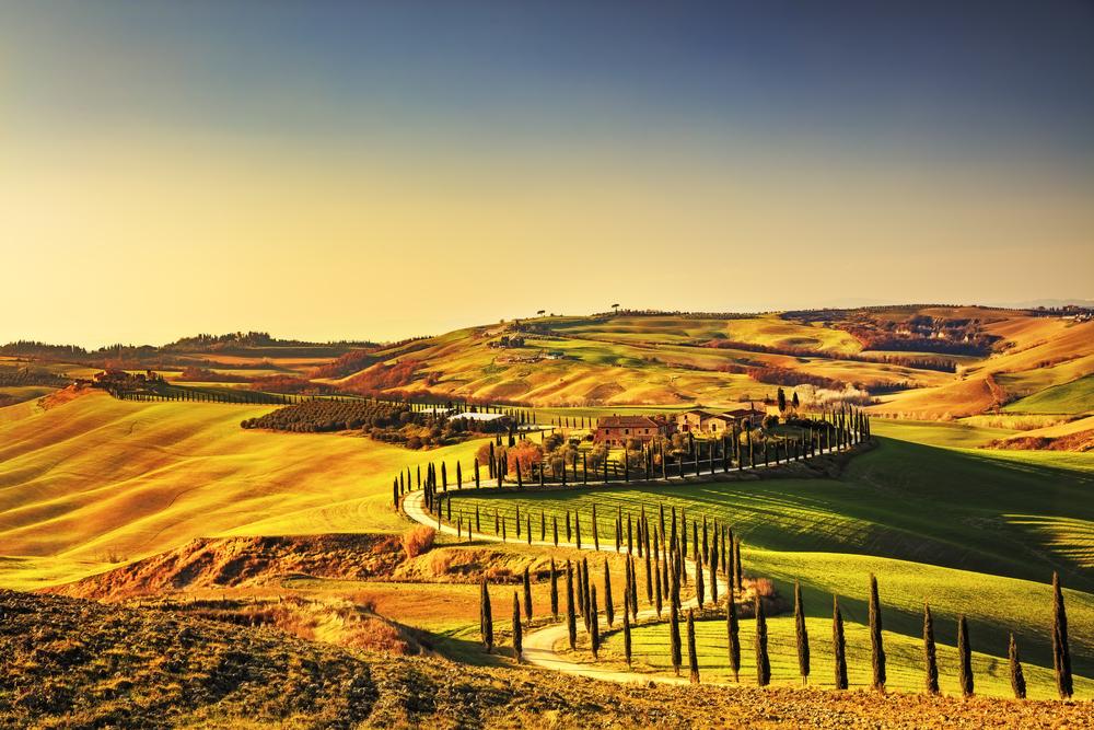 Zoom sur une région photogénique : l'Italie.